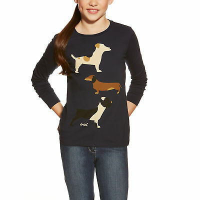 Ariat Girls Kennel Club Tee - CLOSEOUT