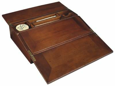 G614: Biedermeier Travel Secretary, Fold Writing Desk, Folding Desk aufsatzpult