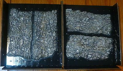 Woodland Scenics #C1138 Rock Faces - Ready Rocks -- 4 Pieces