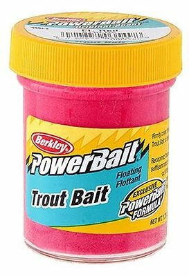 New Berkley Jarred Soft Floating PowerBait Dough for Trout Flu. Red BTBFR2