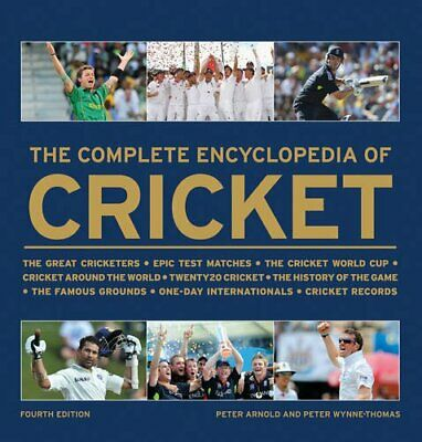The Complete Encyclopedia of Cricket by Peter Wynne-Thomas Book The Cheap Fast