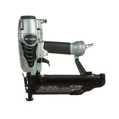 Hitachi 16-Gauge 2-1/2 in. Oil-Free Straight Finish Nailer Kit NT65M2S New