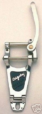 NEW - Genuine USA Bigsby B7 Vibrato Tailpiece - POLISHED ALUMINUM