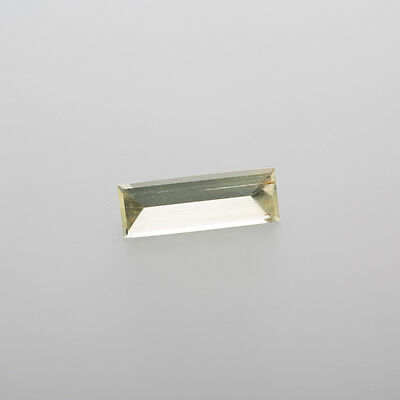 Beryl Rectangle 16x5,5mm Weight:2,30 Ct polished in Idar-Oberstein / L 12