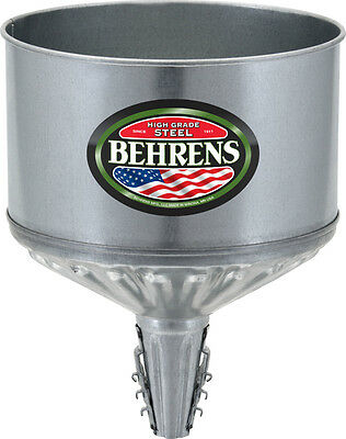 Behrens GTF123 Lock On Tractor Funnel with Screen, 1 Gallon