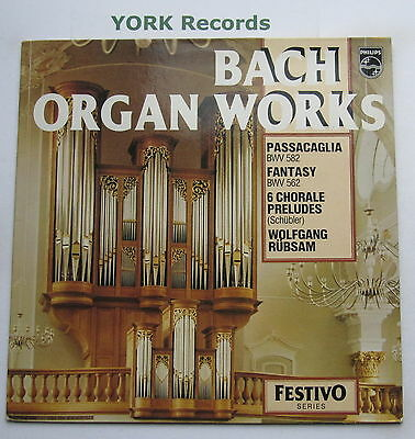 6570 069 - BACH - Organ Works WOLFGANG RUBSAM - Excellent Condition LP Record