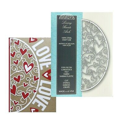 Xcut 2 pc craft cutting die COUPLE IN HEART Wedding love lovers