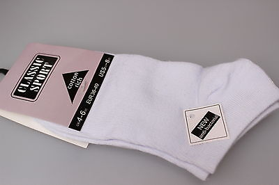 Cotton Rich Un-Padded Stretch Golf Socks Cotton Liner/Trainer Black or White x 3