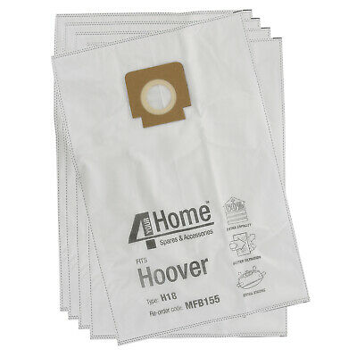 10 x H18 H4 Vacuum Bags for Hoover U2196 U2198 U2332 Hoover UK