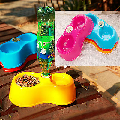 Pet Dog Cat Puppy Automatic Water Dispenser Fountain Dish Feeder Bowl Bottle