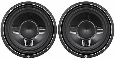 """2) Rockford Fosgate P3SD4-12 P3SD412 12"""" 1600W Shallow Mount Car Subwoofers Subs"""
