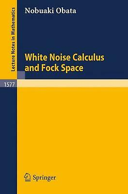White Noise Calculus and Fock Space by Nobuaki Obata (English) Paperback Book Fr