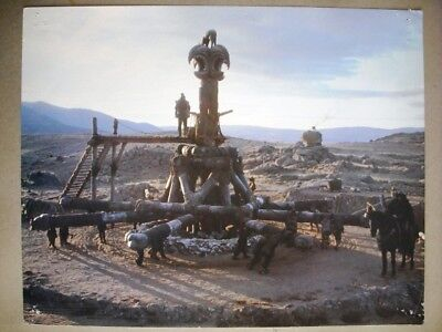 Conan the Barbarian Arnold Schwarz Type G Movie Lobby Card 80s