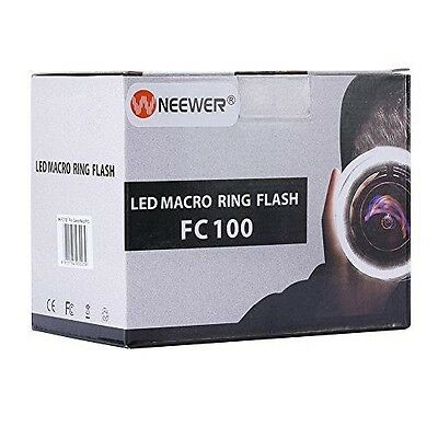 Flash Annulaire MACRO Meike FC 100 et coulée Nikon canon - Neewer  NEUF
