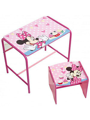 SET CAMERETTA Minnie Mouse Doodle Desk and Stool
