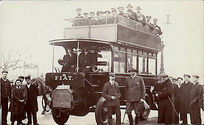 ? Ryde, Isle of Wight. Fiat Bus.