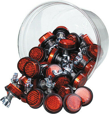 Chris Products Mini-Reflectors Red 150pk CH150R