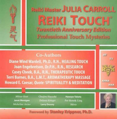 Reiki Touch by Julia Carroll (English) Paperback Book Free Shipping!