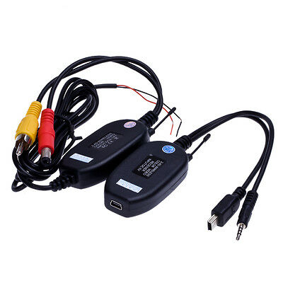 Wireless Color Video Transmitter & Receiver 2.4g for Car Vehicle Backup Camera