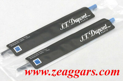 ST Dupont Ballpoint Refill #040870 (F) Blue x 2