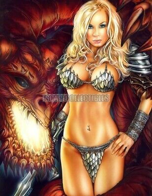 Deadly Desires Signed Print Moore