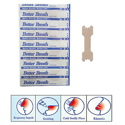 Better Breath Nasal Strips Normal Or Large Right AID TO STOP Snoring Strip