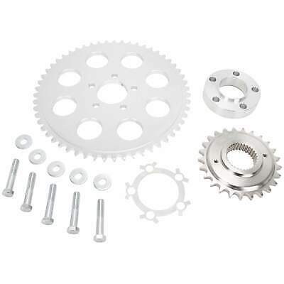 Lowbrow Customs Chain Conversion Kit Silver Harley-Davidson Dyna 06-up Twin Cam