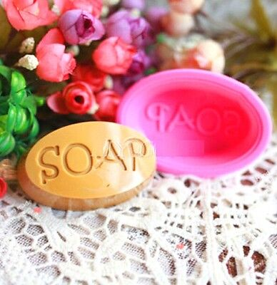 FD3169 Soap Word Silicone Baking Mould Cake Chocolate Handmade Soap Candle Mold