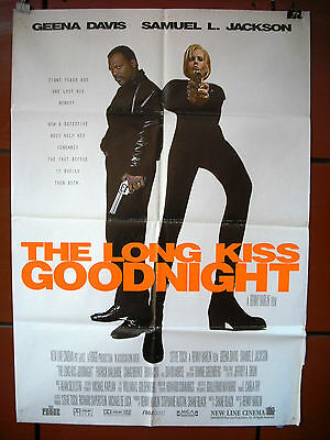 The Long Kiss Goodnight (Samuel L. Jackson) ORG. 40x27 Movie Poster 1996