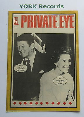 PRIVATE EYE MAGAZINE - Issue 610 - Friday 3 May 1985