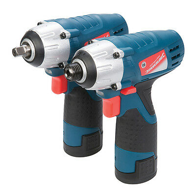 Silverline Silverstorm 10.8V Impact Wrench & Driver Twin Pack 10.8V 262266