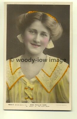 b0431 - Film & Stage Actress - Phyllis Dare as Peggy in Dairy Maids - postcard