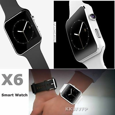X6 Bluetooth Smart Wrist Watch Phone Mate for Android&IOS iPhone Samsung LG Sony