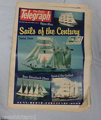 #AA. DAILY TELEGRAPH  TALL SHIPS SPECIAL  19th January 1988