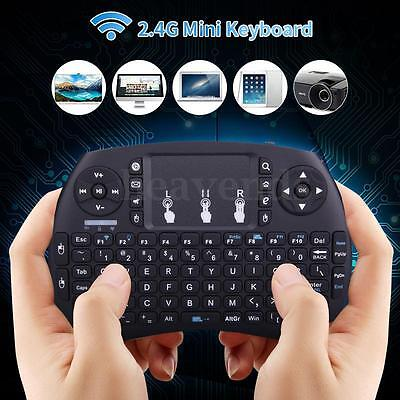 2.4Ghz Teclado Ratón Inalámbrico Wireless Mouse Touchpad Para Android Smart TV