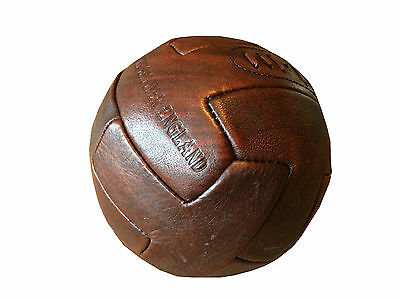 Vintage Retro Style Leather Footballl Antique Cow Hide Leather
