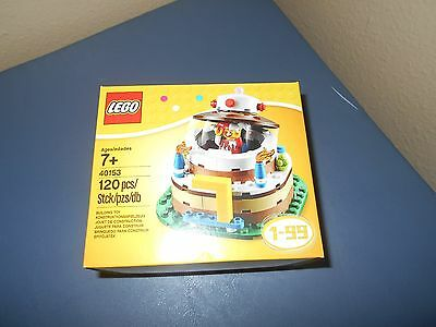 Lego Set 40153 Birthday Cake Table Decoration With Jester Minifig New