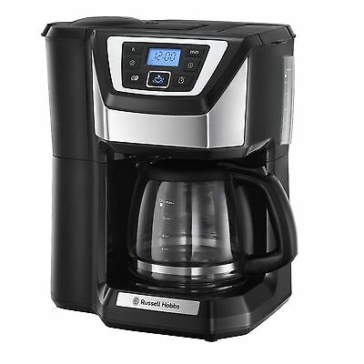 Russell Hobbs 22000 Grind & Brew 12 Cup Filter Chester Coffee Maker Machine New