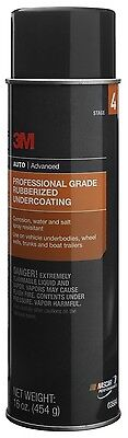 3M 03584 Professional Grade Rubberized Undercoating - 16 oz. New Free Shipping