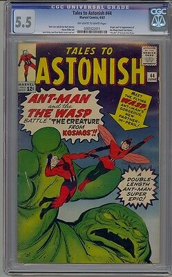Tales To Astonish 44 Cgc 5.5 1St Wasp Avengers