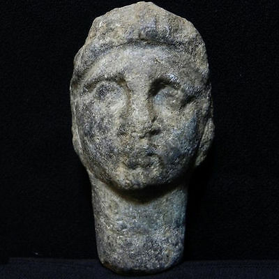 ZURQIEH - EGYPT. Beautiful Roman Stone (LAPIS?) OF A Male. 100 - 200 A.D