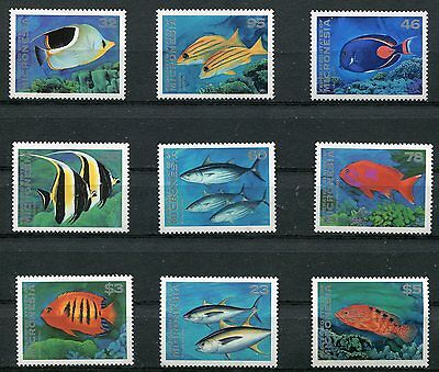 Magnificent 1996  Micronesia Tropical Fish Stamps Complete Set -$23.80 Value!