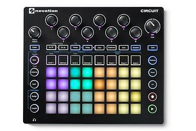 Novation Circuit Drum Machine, Pad Controller Grid-Based Groove Box NEW