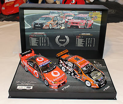 Garth Tander Jamie Whincup 2007 V8 Supercar Championship Twin Set 1:18 New