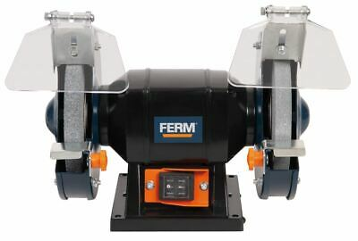 "Ferm Bench Grinder 150W 6"" 150mm Twin Grinding Stone Workshop Garage"