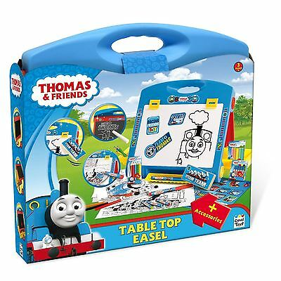 Thomas & Friends THC010 Kids Children Table Top Easel with Accessories Toy New