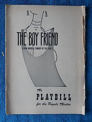The Boy Friend - Royale Theatre Playbill - November 14th, 1955 - Bayless - Hewer