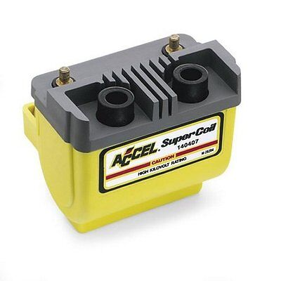 Accel Super Coil Electric Ignition Yellow For Harley 80-03