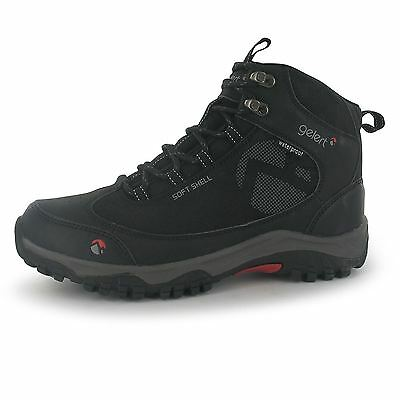 Gelert Mens Softshell Walking Boots Hiking Cushioned Insole Lace Up Footwear