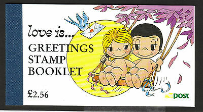 Ireland 1998 Love Is £2.56 Greeting Booklet Sb62